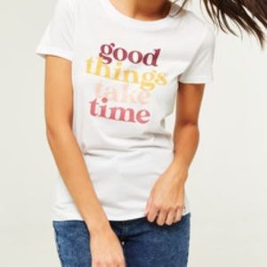 Ardene Collective Graphic Cotton Blend Tee